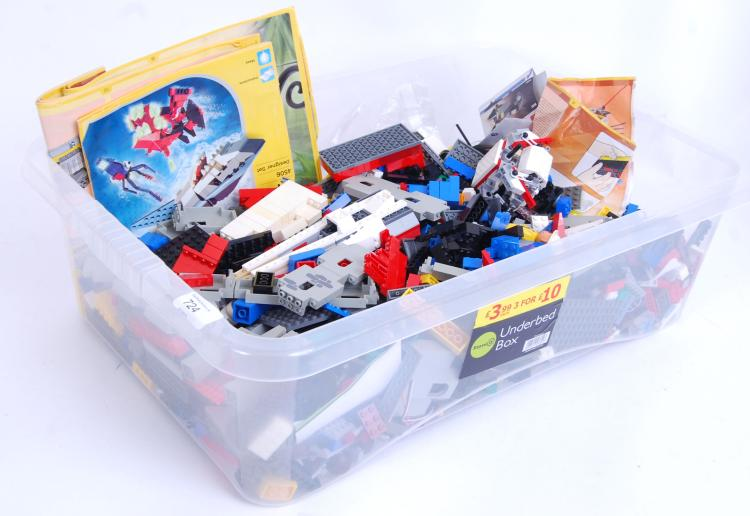 LEGO: An assorted box of loose