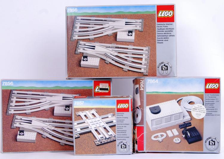 LEGO: A collection of 4x vinta