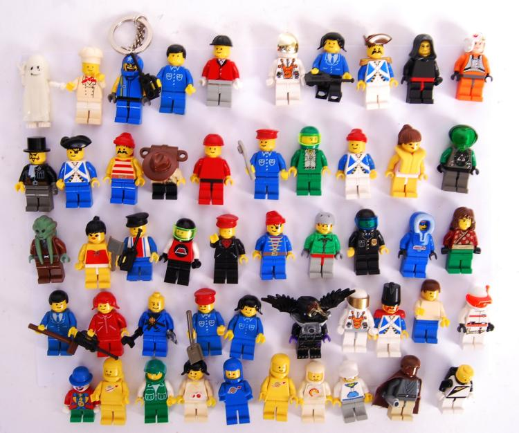 LEGO: A large collection of 50