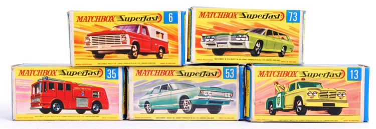 MATCHBOX: A collection of 5x v
