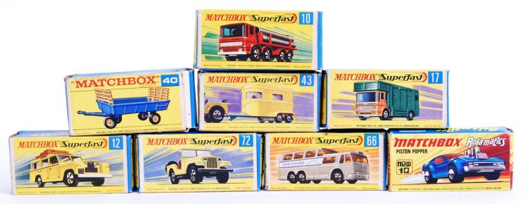 MATCHBOX: A collection of 8x v