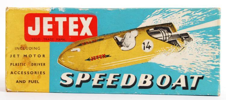 JETEX: An original c1950's Jet
