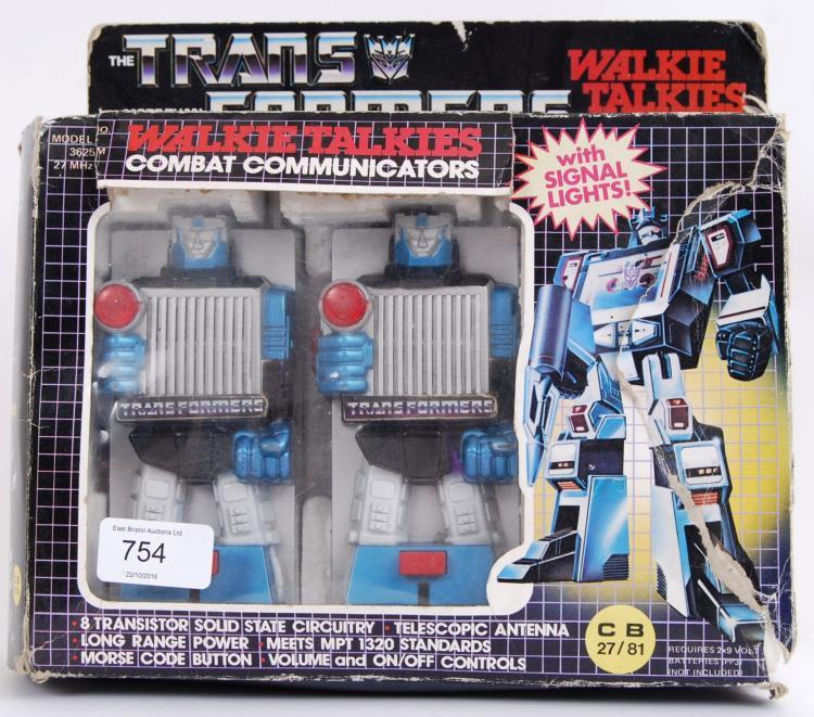 TRANSFORMERS: An original 1980