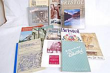 Selection of Books on Bristol together with