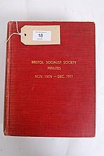 Bristol Political: Bristol Socialist Society