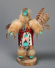 Vintage Signed Kachina Doll~Snipe
