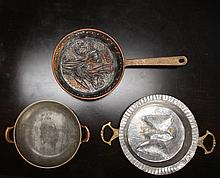 2 Antique Molds & Pan
