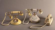 3 Vintage Telephones