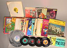 Large Lot of Vintage Records