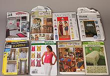 Grouping of McCall's & Simplicity Home Patterns