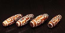 4 Tibetan Bone Beads
