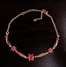 Stone Mounted Bracelet