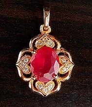 Chinese Xuping Pendant