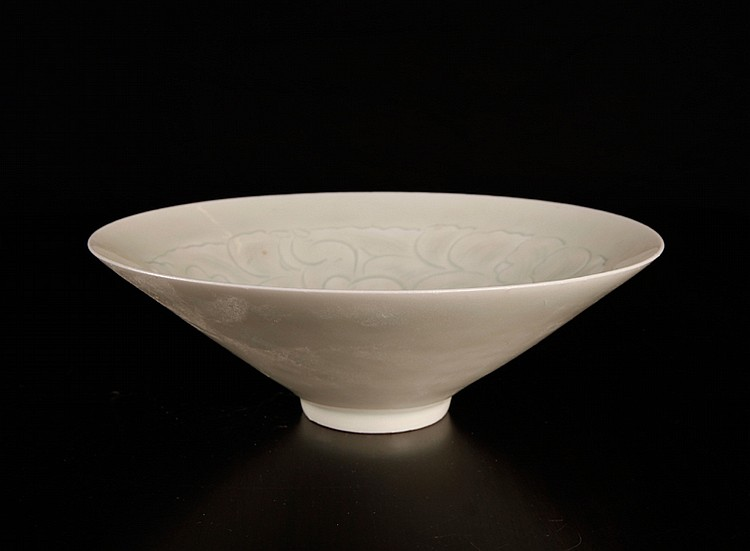 Chinese Celadon Incised Bowl