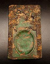 Chinese Carved Hardstone Inkstone