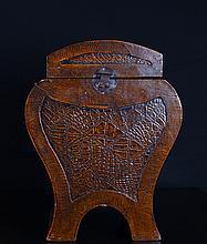 Chinese Wood Lock Box