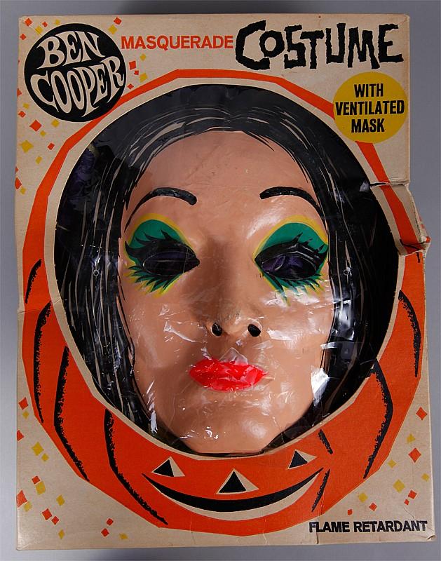1965 Ben Cooper Morticia Costume