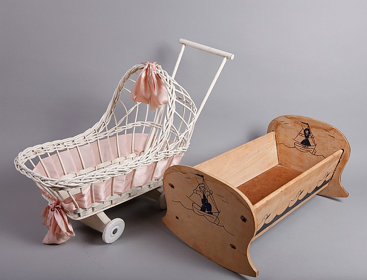 Doll Cradle and Stroller