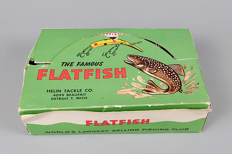Box of Helin Flatfish Lures