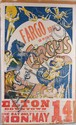 Antique Fargo Bros. Circus Poster