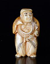 Japanese Carved Ivory Netsuke