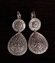 Pair of Tibetan Style Earrings