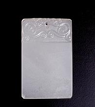 Chinese Hardstone Plaque