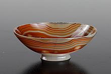 Chinese Carved Agate Dish