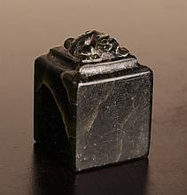 Chinese Carved Hardstone Seal