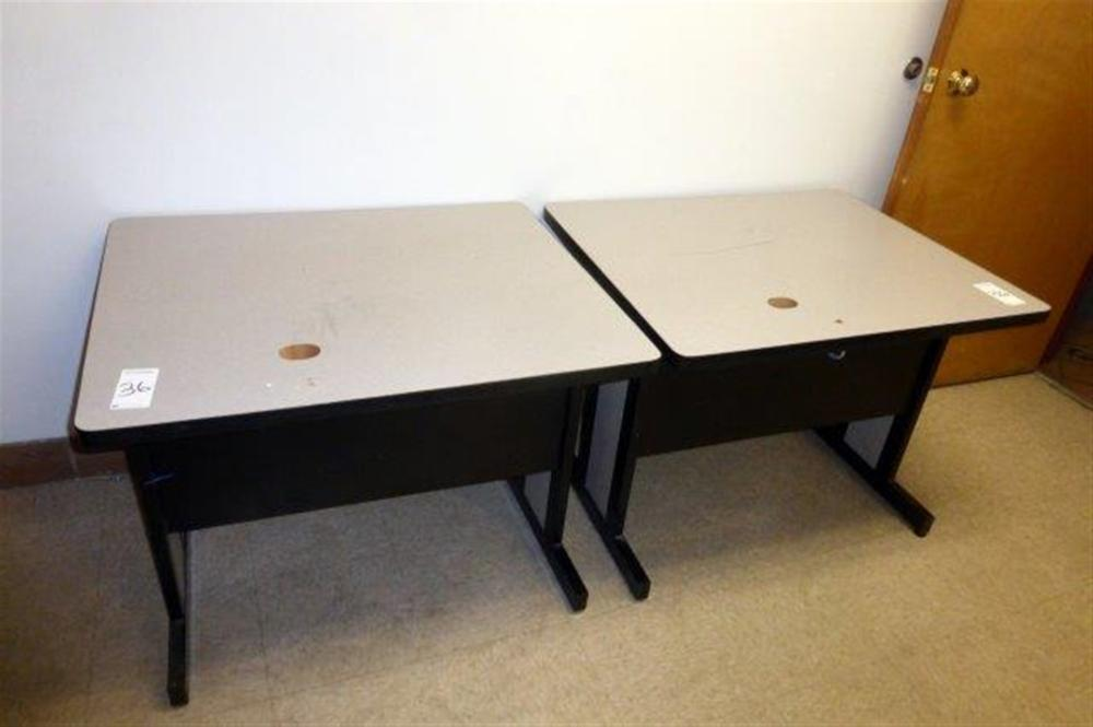 2-3' MODULAR TABLE W/GREY TOP