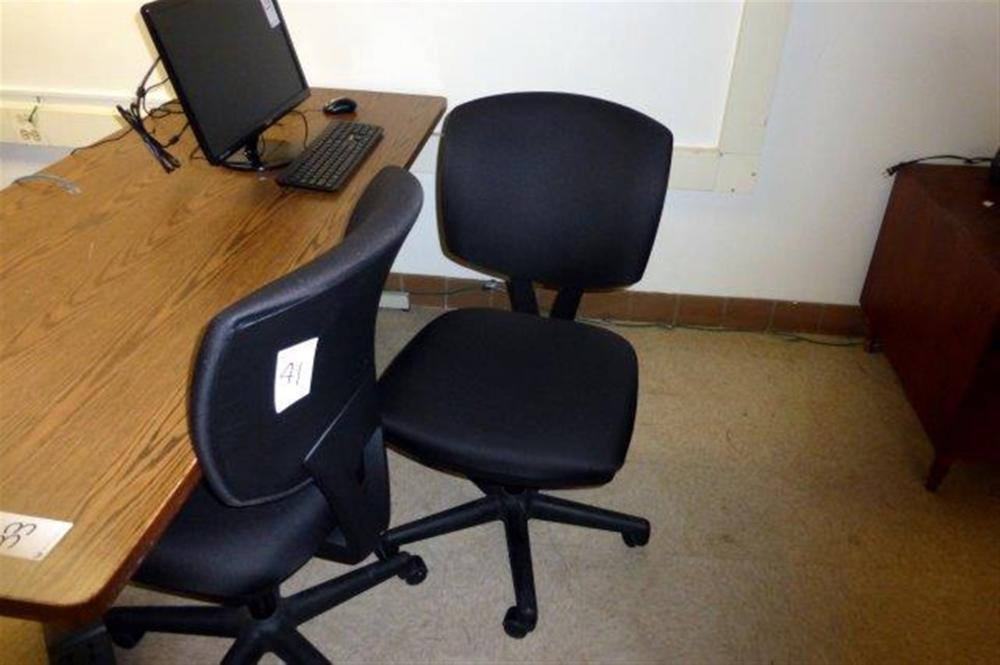 HON BLACK SWIVEL CHAIR H5701