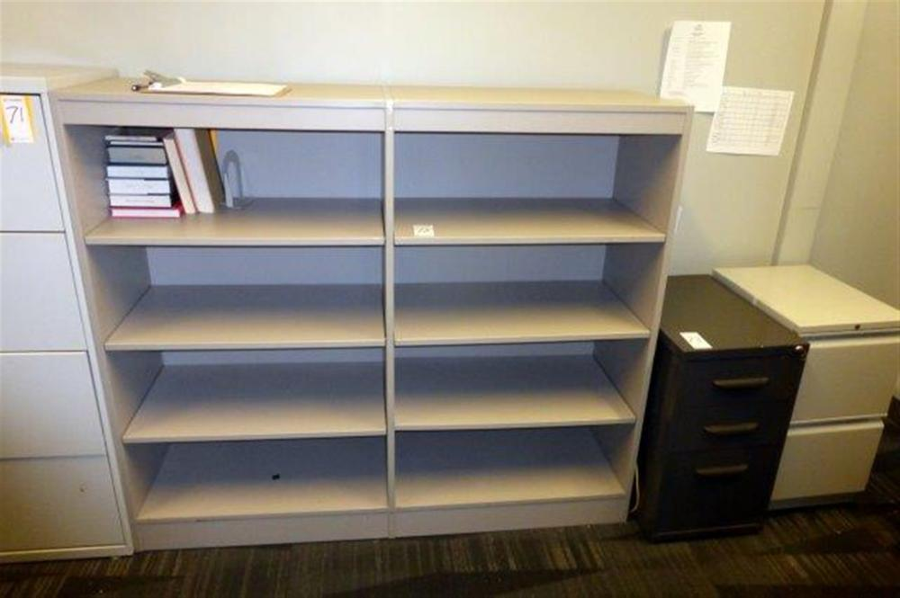 4-SECS METAL SHELVING