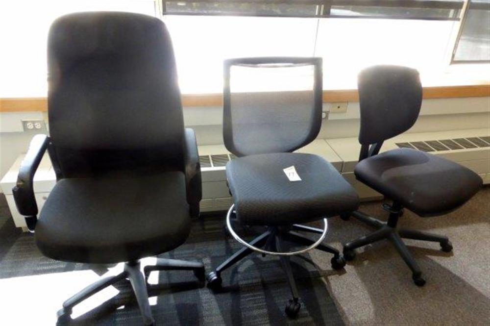 3-ASST SWIVEL CHAIRS