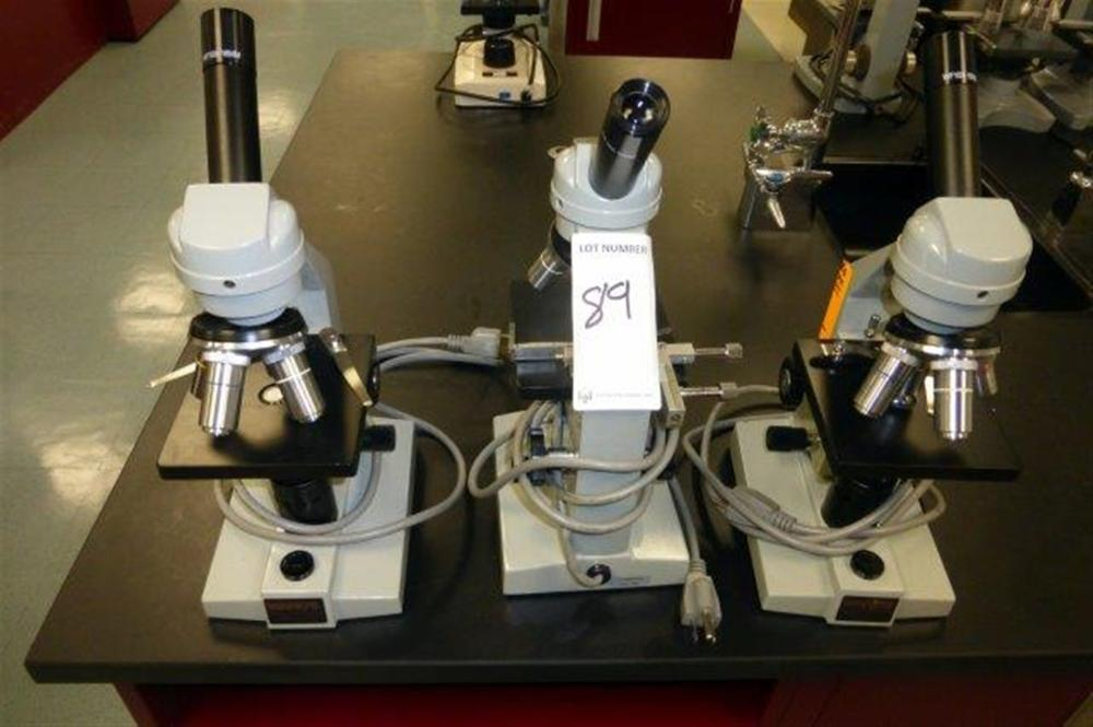 3-WARDS MICROSCOPES