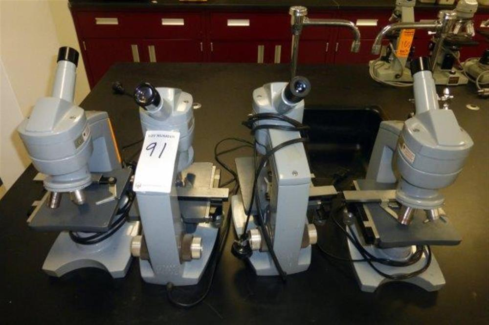 4-AMERICAN OPTICAL MICROSCOPES