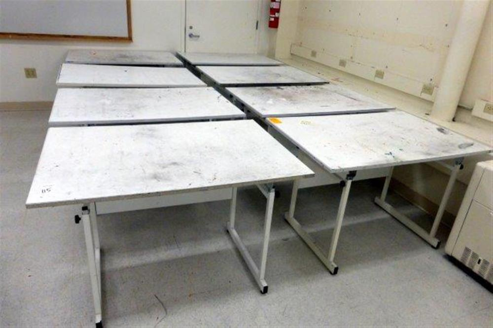 8-DRAFTING TABLES