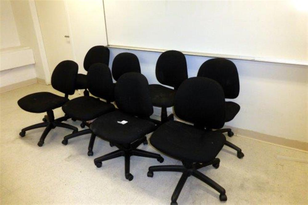 8-SWIVEL CHAIRS