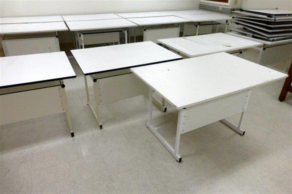 5-ADJUSTABLE DRAFTING TABLES