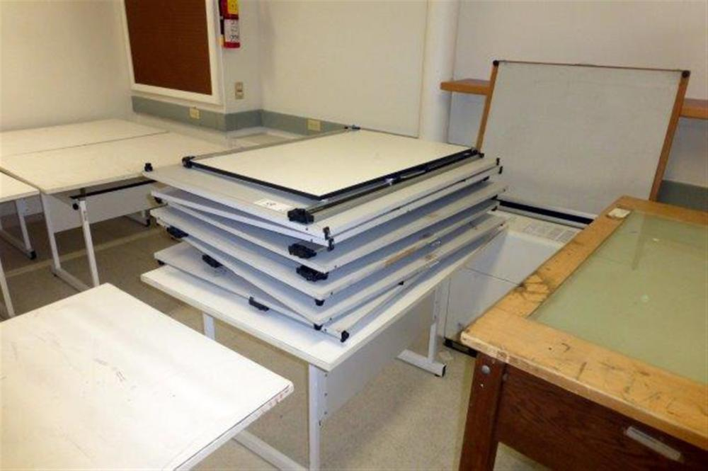 LOT-TABLE TOP DRAFTING UNITS