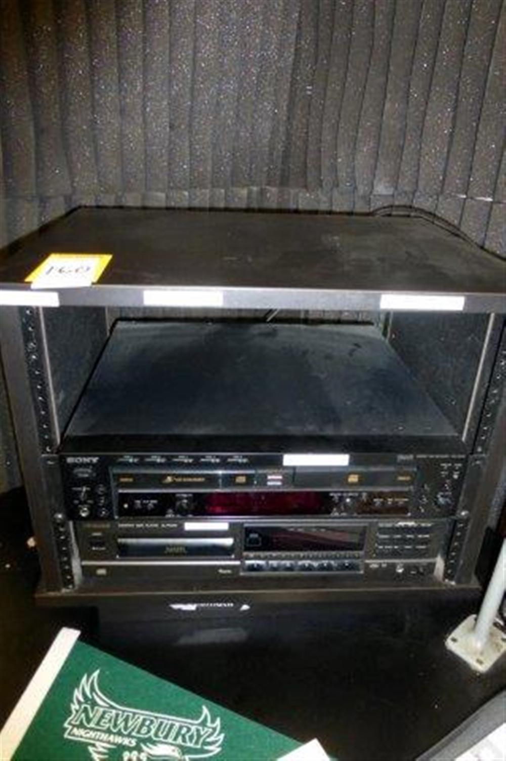 LOT SONY CD RECORDER, TECHNICS ROTARY CHANGER, LPB AUDIO COMPRESSOR