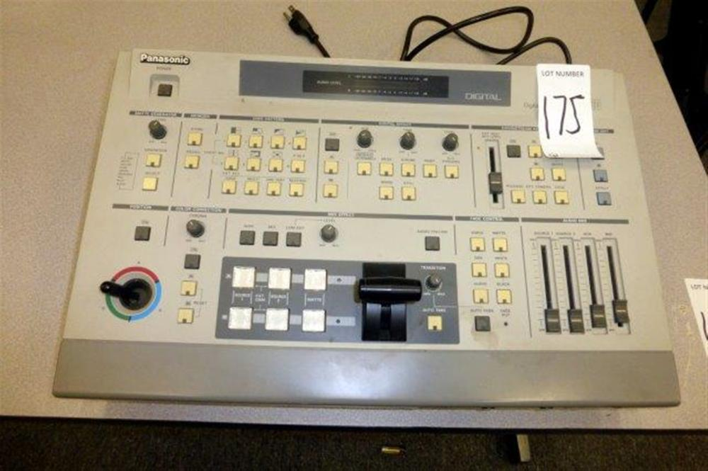 PANASONIC DIGITAL A/V MIXER WJ-MX30