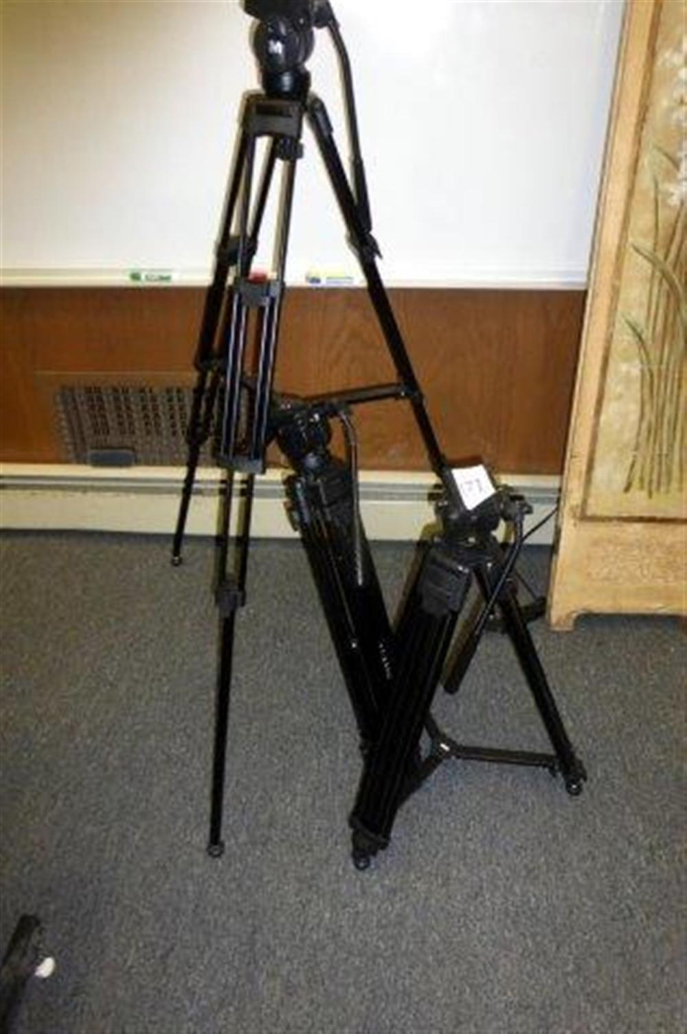 3-PEARSTONE & M VIDEO TRIPODS