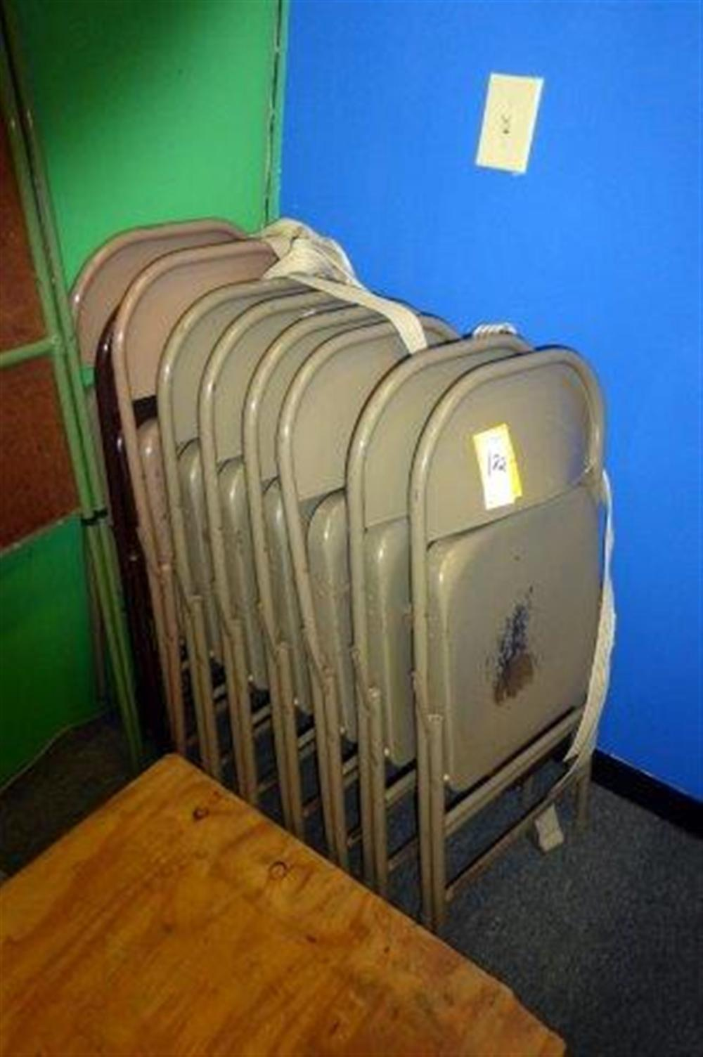 9-TAN FOLDING CHAIRS