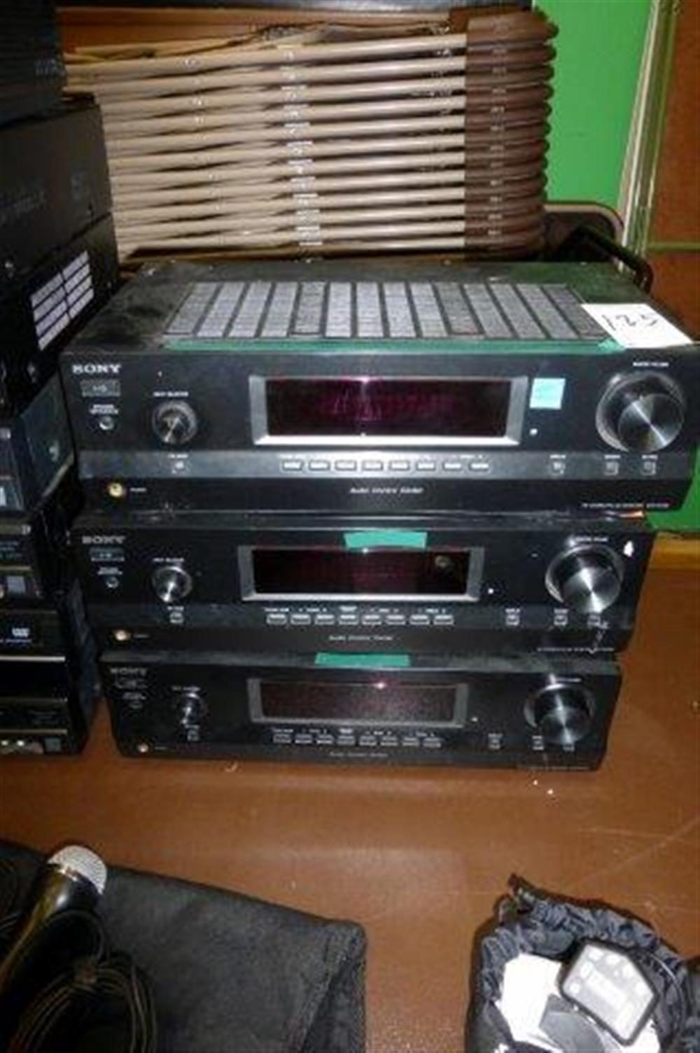 3-SONY RECEIVERS