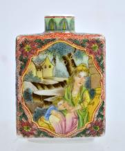 Chinese Porcelain Famille Rose Snuff bottle