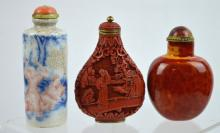 3 - 19th Century Chinese Snuff Bottles