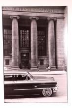 Frank Paulin; Wall Street 1957 Vintage Photograph