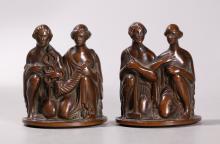 Ulysses Ricci; Pr Bronze Sculptural Maquettes