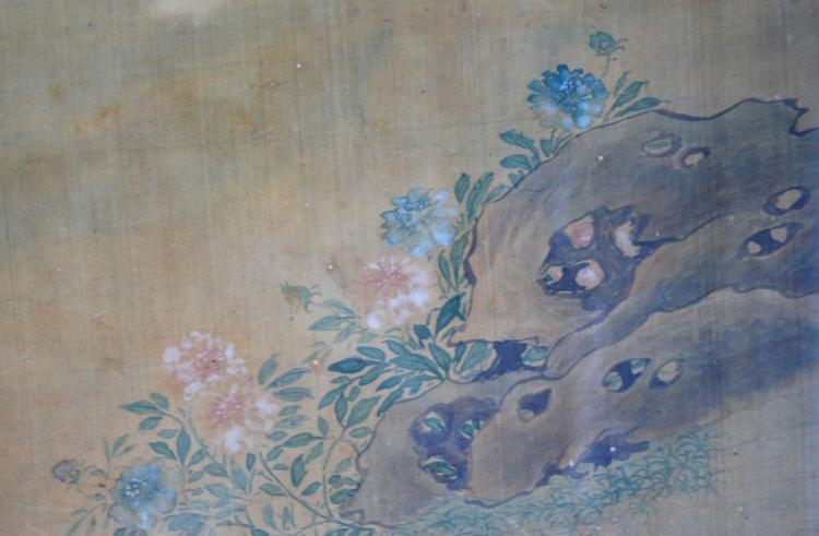 Chinese Qing Dynasty Scroll Painting of Beauty