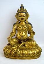 Antique Tibetan Bronze Buddha